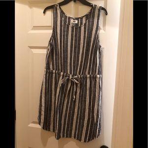 Old Navy Linen mix comfy summer dress, LP
